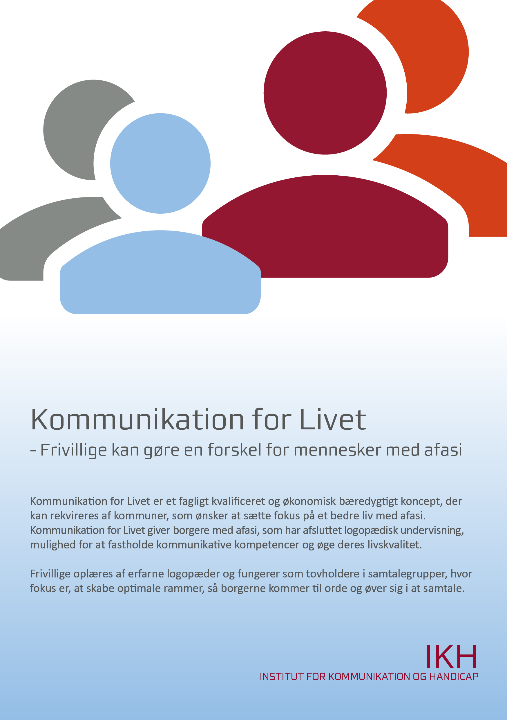 Flyer Kommunikation for Livet